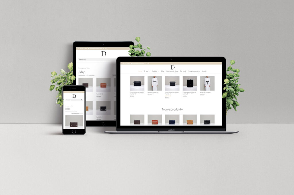 NUEKO Digital Portfolio - Departament Store ecommerce