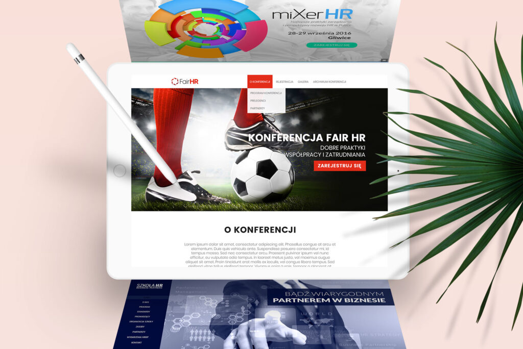 NUEKO Digital Portfolio - Conference websites