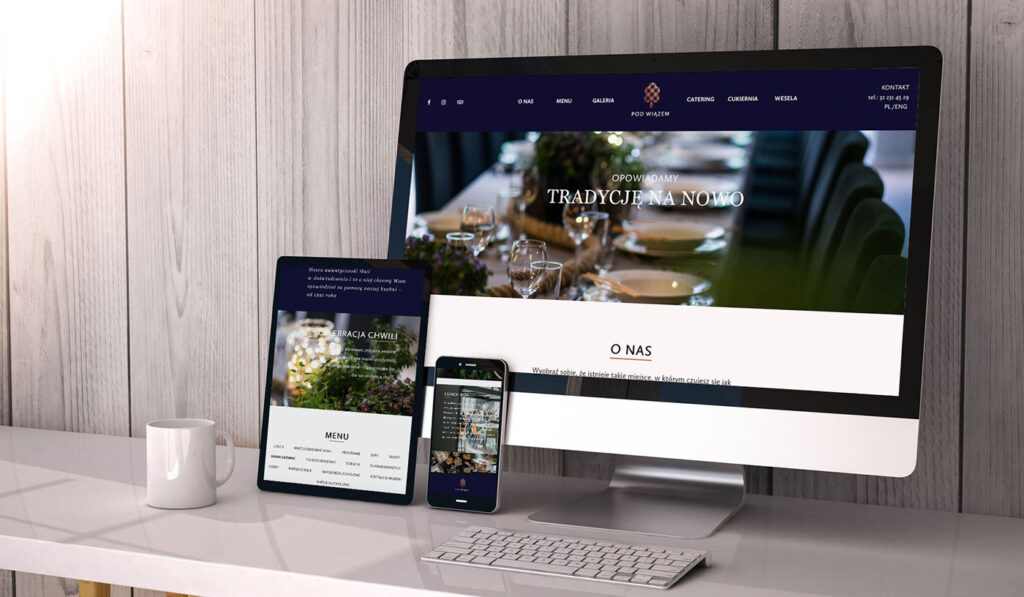 NUEKO Digital Portfolio - Restaurant Websites 2